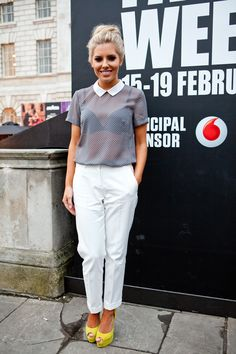 Smart, cute & casual (Mollie King LFW)