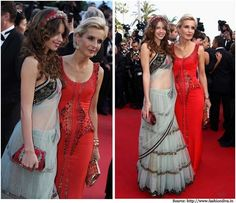 Bollywood Celebrities at Cannes Film Festival and Red Carpet Events