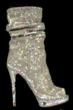 check out 3d389 3aa7a BEAUTIFUL SPARKLE BOOT Esmeraldas, Botas Altas, Diamantes, Brillante,  Brillos, Sandalia,