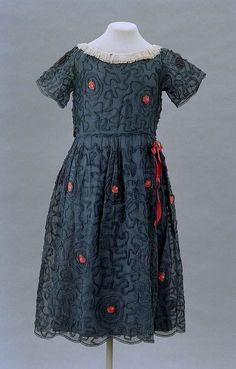 Girl's Dress  Jeanne Lanvin, 1922  The Museum of Fine Arts, Boston