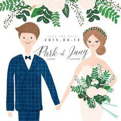 Hand-drawn Wedding Invitations:讓你擁有獨一無二的婚禮邀請函 1