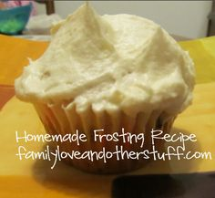 Homemade Frosting #Recipe