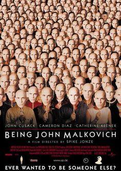 Cómo ser John Malkovich, Spike Jonze (John Cusack, Cameron Díaz, Catherine Keener)