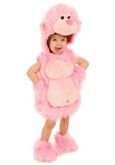 Toddler Pink Gorilla costume #Halloween #Girls