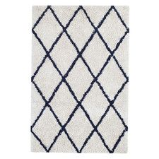 Hill Ivory/Navy Area Rug