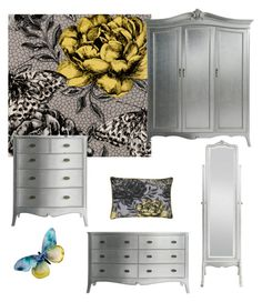 """Papillon"" by serendipityhome on Polyvore featuring interior, interiors, interior design, home, home decor and interior decorating"