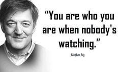 The wisdom of Stephen Fry.