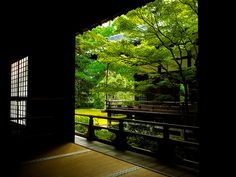 a kind of filter (Syourenin temple, Kyoto)