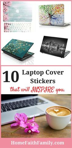 These laptop cover stickers will help give you the inspiration you need in your daily life. Whether you work at home, pay the bills, or are finding easy dinner recipes. You're going to love these inspirational laptop stickers. Click to find your favorite.