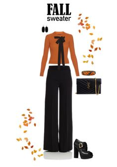 """""""Untitled #8363"""" by erinlindsay83 ❤ liked on Polyvore featuring P.A.R.O.S.H., Rochas, Michael Kors, Yves Saint Laurent and Kendra Scott"""