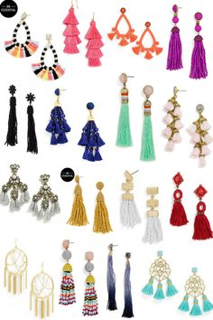 If you are on the hunt for some tassel earrings, you came to the right place. Today on the blog I am sharing 16 earrings that are all under $42!
