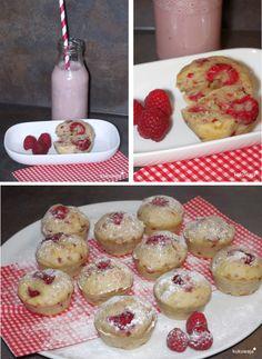kukuwaja: Fruchtige Frühlings-Muffins mit Himbeeren