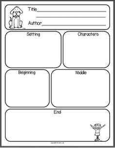 Story elements graphic organizer has been used (in different formats) within our reading and writing instruction to help the students organize their ideas. 1st Grade Writing, First Grade Reading, First Grade Classroom, Teaching Writing, Student Teaching, Reading Response Journal First Grade, Reading Strategies, Reading Activities, Reading Comprehension