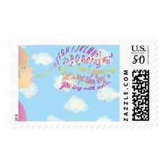 ABC For your Mail! Postage - kids kid child gift idea diy personalize design