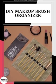 These awesome DIY makeup organizer ideas will save you space and trouble. Say goodbye to messy countertops and say hello to these beautiful cosmetic organizers! #MakeupTutorials #MakeupOrganizer #MakeupDIY