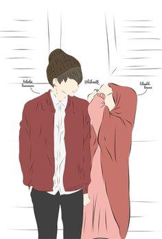 Wedding couple cartoon muslim Ideas for 2020 Wedding Couple Cartoon, Love Cartoon Couple, Girl Cartoon, Cartoon Ideas, Cute Muslim Couples, Cute Couples, Love Drawings, Cartoon Drawings, Wallpaper Fofos