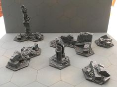 customize your shadespire Model Building, Underworld, Minis, Nerdy, Environment, Gaming, Miniatures, 3d, Craft