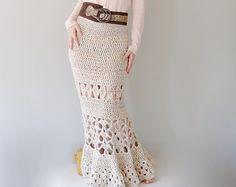 Skirt crochet pattern PDF Summer skirt tutorial by etty2504