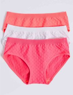 Shop this 3 Pack Jacquard Seamfree Bikini Knickers Years) at Marks & Spencer. Browse more styles at Marks & Spencer US Thermal Tights, Athleisure Trend, Yellow Bikini, Lingerie Drawer, Liner Socks, Girls Socks, Kids Swimwear, Best Stretches, Sewing Patterns