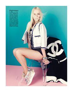 sporty Chanel