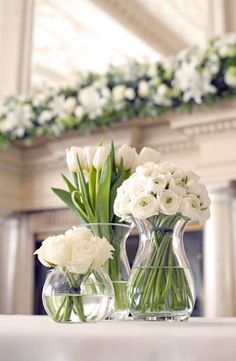 wedding centerpiece idea; via Happy Wedd