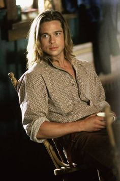 Brad Pitt in one of my favorites of all time... Legend of the Fall.