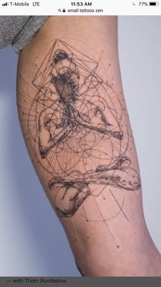 Unique Tattoos for Men tatoo This unique tattoos idea tips its hat to the inherent balance of the hu Yoga Tattoos, Body Art Tattoos, New Tattoos, Sleeve Tattoos, Tattoos For Guys, Tatoos, Tattoo Guys, Wrist Tattoos, Chakra Tattoo