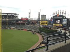 The Giant Scoreboard at US Cellular Field