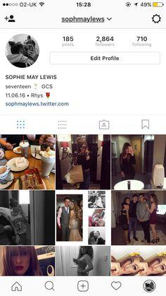 Follow me on Instagram : sophmaylews #instagram #follow