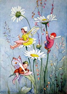 March House Books Blog: Joan in Flowerland by Margaret W. Tarrant- Moon Daisies