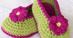 Fairy Blossom Baby Booties    This crochet pattern / tutorial is available for…