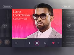 Dribbble - Music Player by Zhen You User Interface Design, Ui Ux Design, Graphic Design, Apps, Music App, Music Music, Mobile App Design, Mobile Ui, Tablet Ui