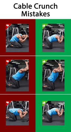 Cable Crunch Mistakes #Exercises_Mistakes #Mistakes_at_gym #Abs_Exercises_Mistakes #muscles_pain # joints_pain #Abs_Exercises