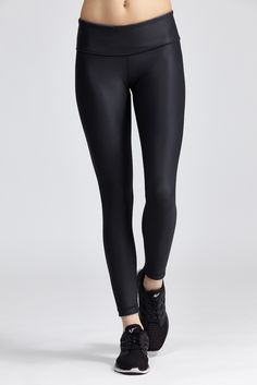 The Reversible Legging by With is a full-length reversible legging with complimentary prints that...