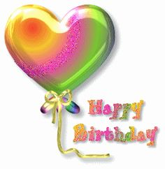 Wallpaper and background photos of Happy birthday! for fans of Happy Birthday Fanpop Users images. Happy Birthday Gif Images, Happy Birthday Balloons, Happy Birthday Messages, Happy Birthday Greetings, Birthday Posts, Birthday Fun, Birthday Quotes, Sister Birthday, Happy Birthday Celebration