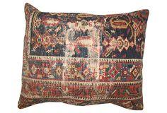 Distressed Russian   Rug  Pillow on OneKingsLane.com