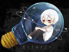 Mafumafu - Abandoned Stella / Sutego no Stela Song by Neru Chibi Boy, Kawaii Chibi, Anime Chibi, Kawaii Anime, Anime Art, Vocaloid, Kitten Drawing, Manga Drawing Tutorials, Chibi Characters