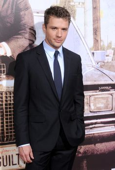 Ryan Phillippe's Suit and Tie Swag