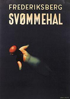 Frederiksberg Svømmehal / FRB 6 - Køb denne plakat hos Plakatgalleri