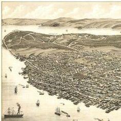 Ruger's Birdseye Map of Halifax, Nova Scotia (1879) - the BIG Map Blog