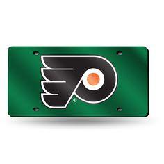 Philadelphia Flyers Laser Cut License Plate Tag