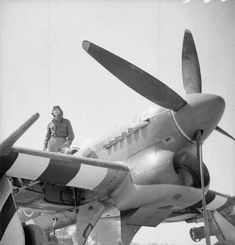 Air Force Bomber, Air Force Aircraft, Ww2 Aircraft, Fighter Aircraft, Military Aircraft, Fighter Pilot, Fighter Jets, Hawker Tempest, Hawker Typhoon