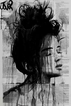 Birches and twigs, Loui Jover