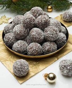 Rumové gule | Angie Eat Me Drink Me, Truffles, Christmas Cookies, Chocolate Cake, Tiramisu, Ham, Blueberry, Cereal, Sweets