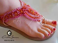 String Crafts, Crochet Sandals, Micro Macramé, Macrame Earrings, Macrame Knots, Macrame Patterns, Bare Foot Sandals, Baby Booties, Sexy Feet