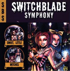 Switchblade Symphony CD Cover Art