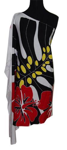 Hawaiian Plus Size Hibiscus Flower One shoulder Short Dress, Jade Fashion - Aloha Wear Clothing Store