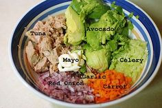 Avocado Tuna Salad - Easy Tuna Salad Recipe | Taste for Adventure - Unusual, Unique Downright Awesome Recipes