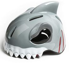 Buy Cute Kids Helmets Bicycle Cycling Bike Helmets Protective Gear for Toddler Child Children Kids Safety Helmet Tail Warning Light,Outdoor Sports Kids Helmet Hard Hat for Boy Girl Student Pupil Shark Helmets, Kids Helmets, Bicycle Safety, Kids Bicycle, Cycling Helmet, Cycling Bikes, Bike Rollers, Toddler Bike Helmet, Skateboard Helmet