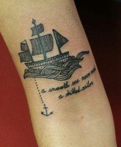 A smooth sea never made a skilled sailor..